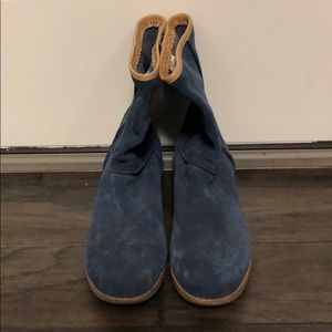 Women's Ugg Leather Healed Boots